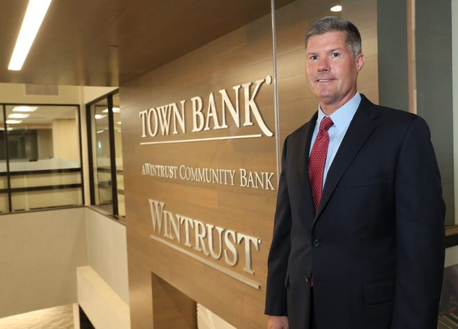 Jay Mack, chairman, president and chief executive officer of Town Bank, is leading the bank's growth efforts in Milwaukee and other parts of Wisconsin.