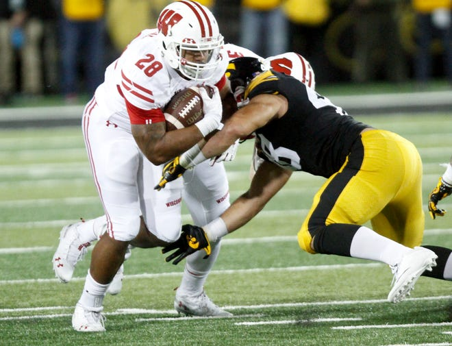 UW tailback Taiwan Deal, who missed last season because of an ankle injury, carried six times for 42 yards against Iowa and hasn't lost yardage on a carry this season.