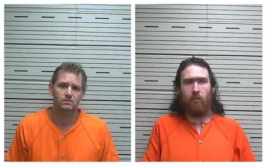 Douglas Phillips, left, and Matthew Phillips