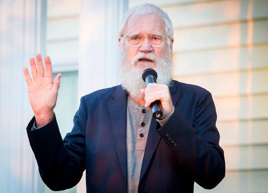 Former Late Night talk show host David Letterman.