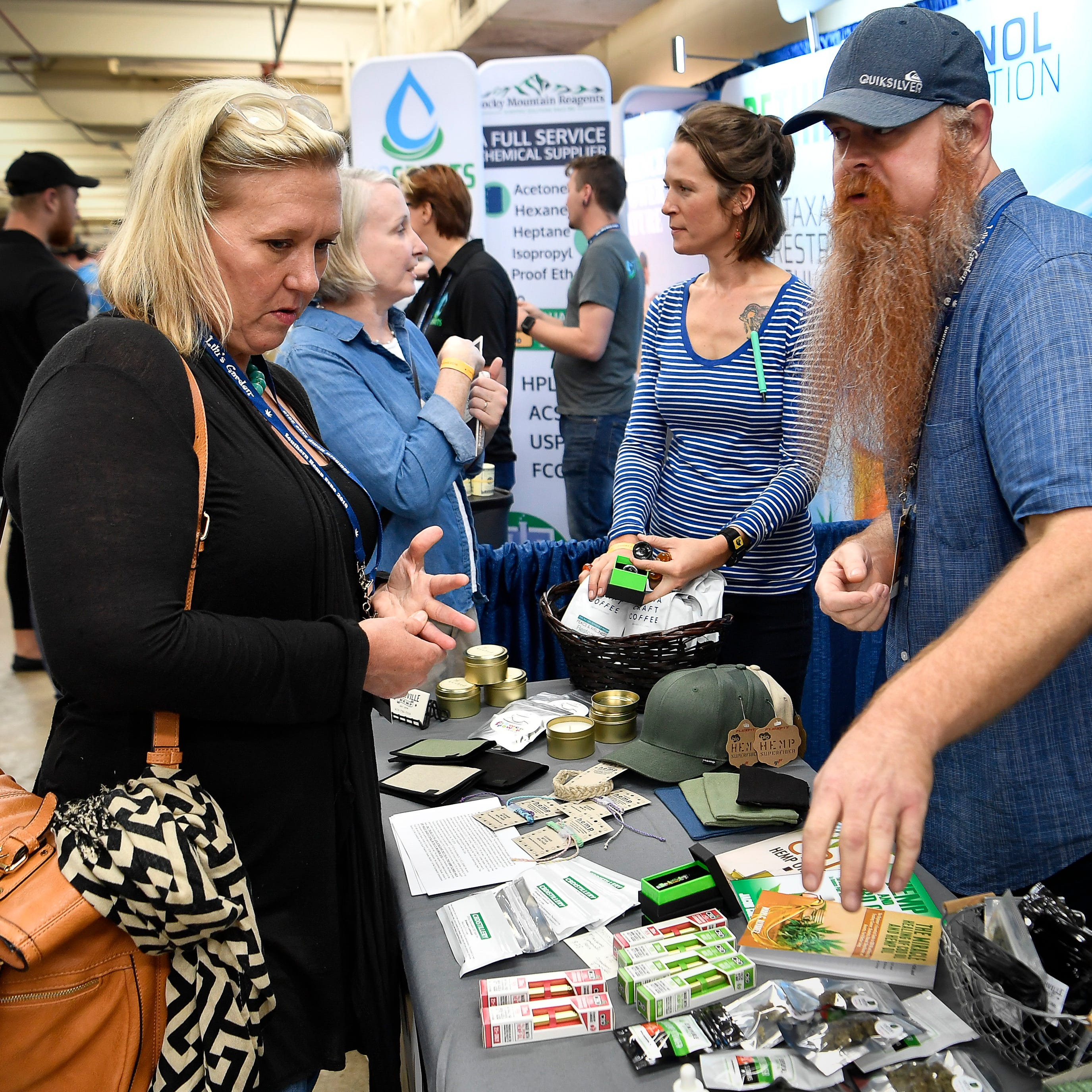CBD: At Tennessee's first hemp expo, a 'sleeping giant' industry awakes