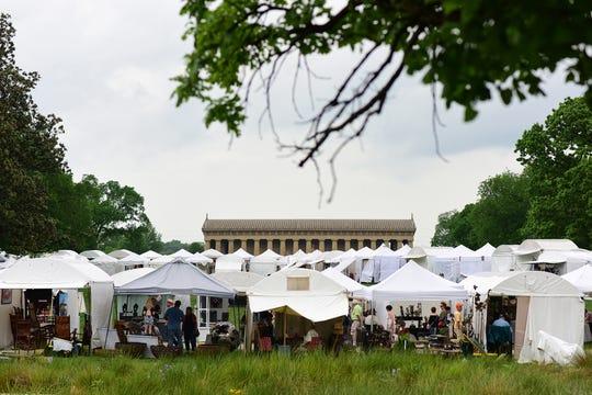 Tennessee Craft Fair at Centennial Park.