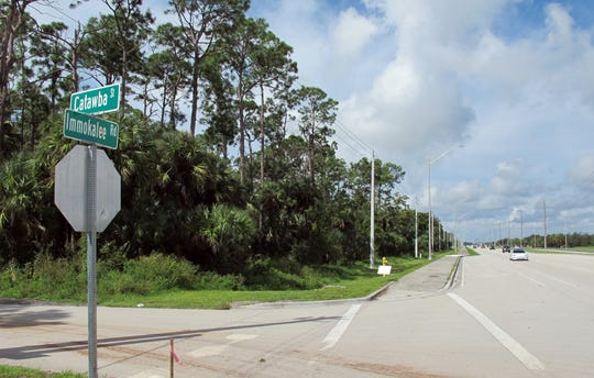 Immokalee Square, a mixed-use development, is planned for the corner of Immokalee Road and Catawba Street.