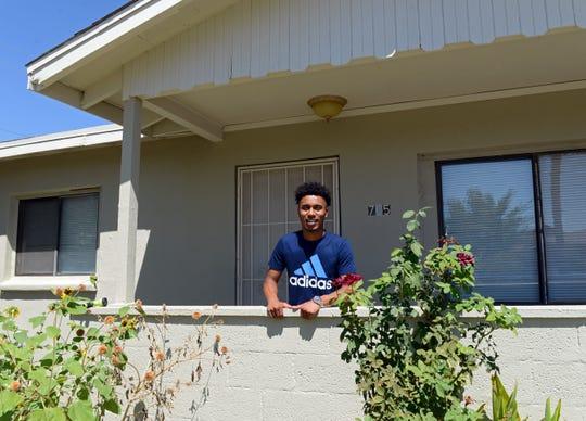 Marcus Scott, a senior at Las Cruces High School.