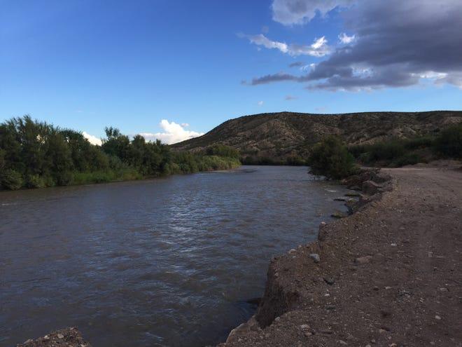 Rio Grande near Hatch.