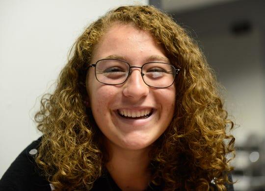 Adena Montanez, a senior at Oñate High School.