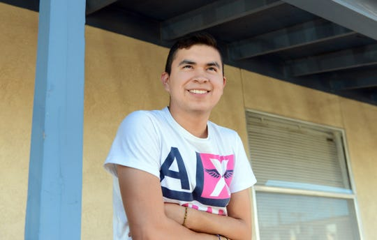 Armando Canto, a senior at Centennial High School.