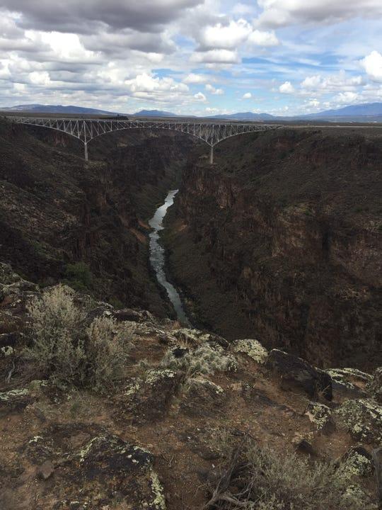 Rio Grande Gorge Bridge.