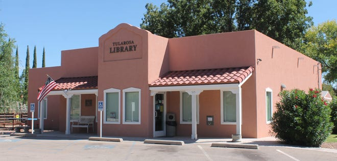The website for the Tularosa Library began hosting explicit ads after the group that set up the website let the domain name lapse.