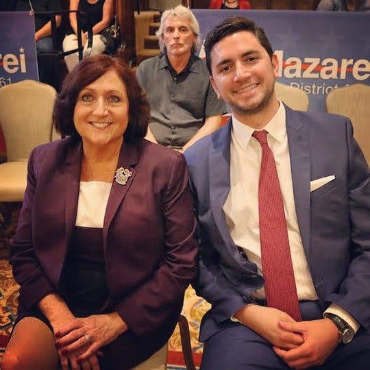 Second District Supervisor Karen Spiegel, pictured left.