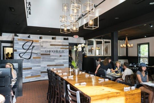 George Bistro + Bar reopened at its new location at 6205 North Ninth Avenue on Friday, Sept. 28, 2018.