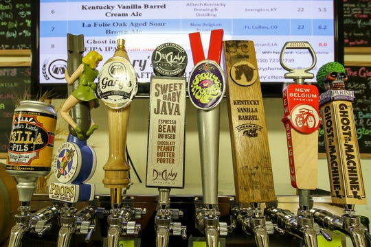 Gary's Home Brew Supply and Artisan Crafted Beers offers an assortment of beers on tap.