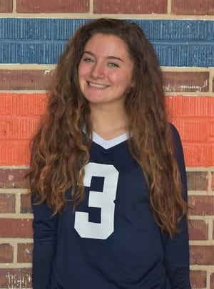 Escambia High volleyball player Caitlin Gurley is the PNJ Volleyball Player of the Week. (Sept. 26, 2018)