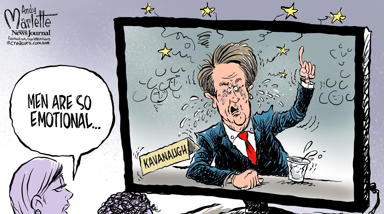 Kavanaugh Cartoons