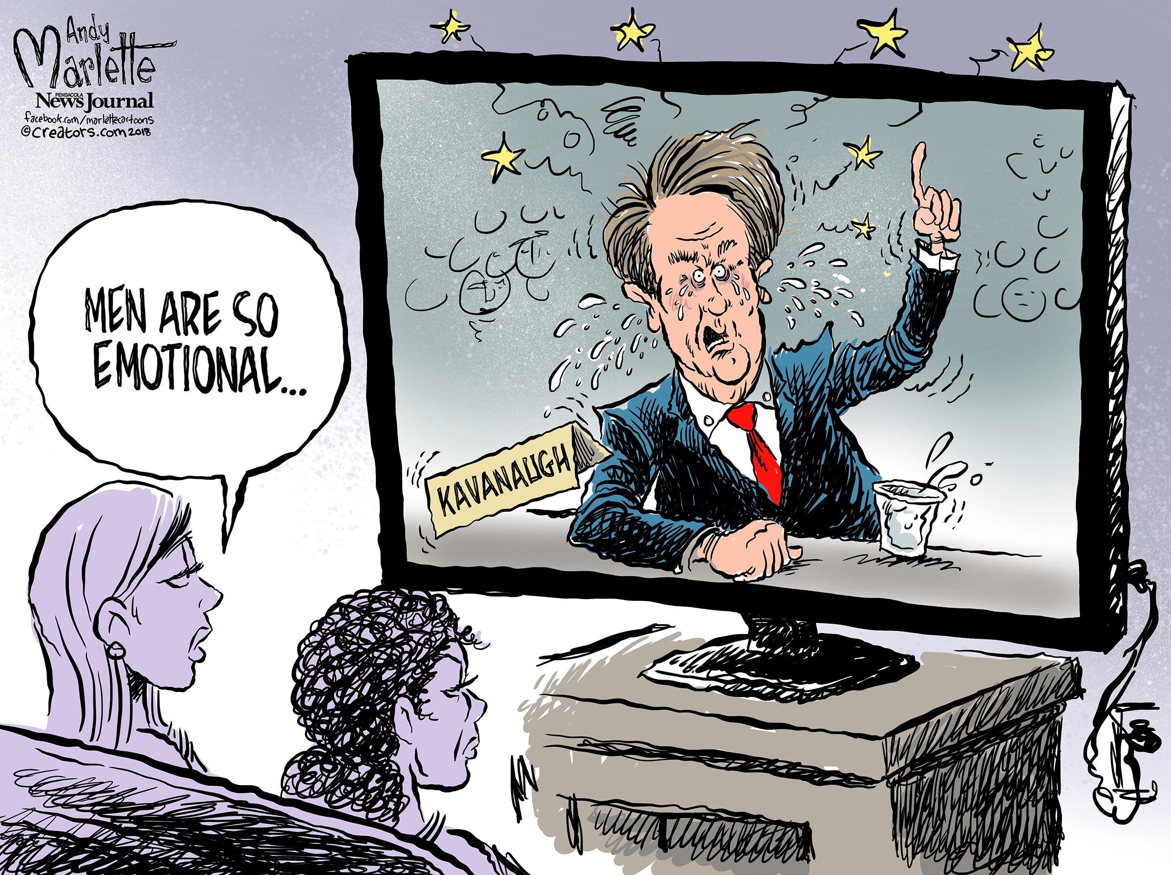 #Kavanaugh in Cartoons