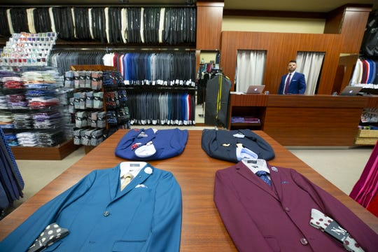 Mitch Fink, owns Nick's Menswear in Chandler Fashion Center,  a family owned and operated business specializing in proms and weddings.