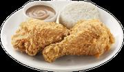The Jollibee menu centers around its ChickenJoy fried chicken.