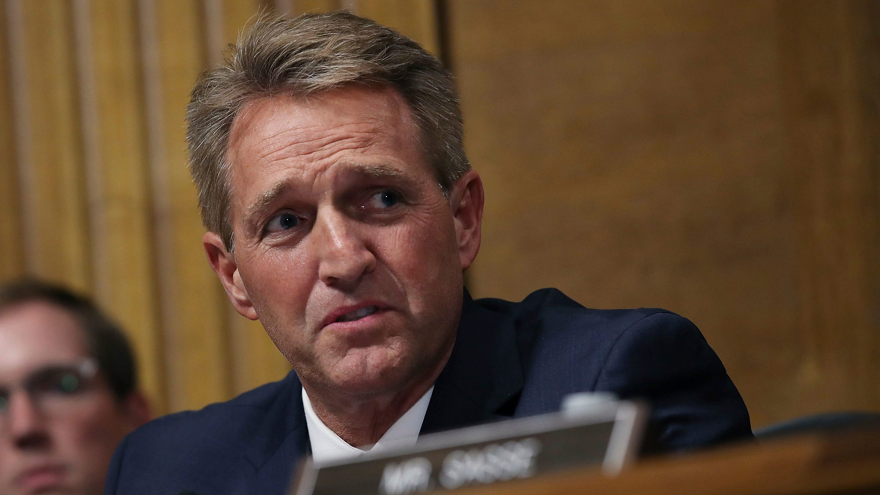 'He failed the moral test': Social media responds to Jeff Flake decision to back Kavanaugh
