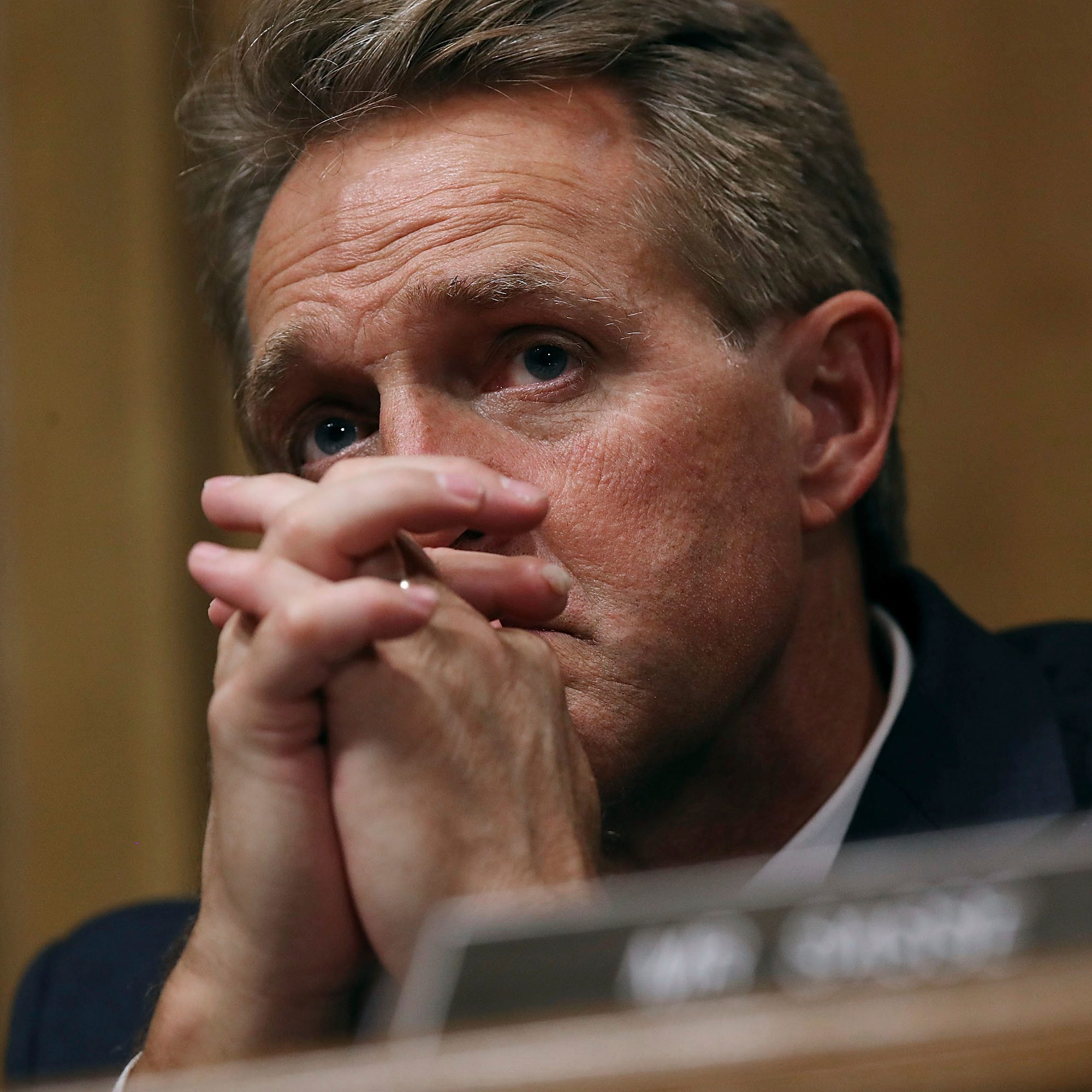 Jeff Flake continues self-flagellating media tour on 'The View'