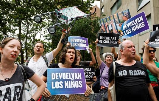 Protestas Por Las Pol Ticas De Inmigraci N De La Administraci N Trump