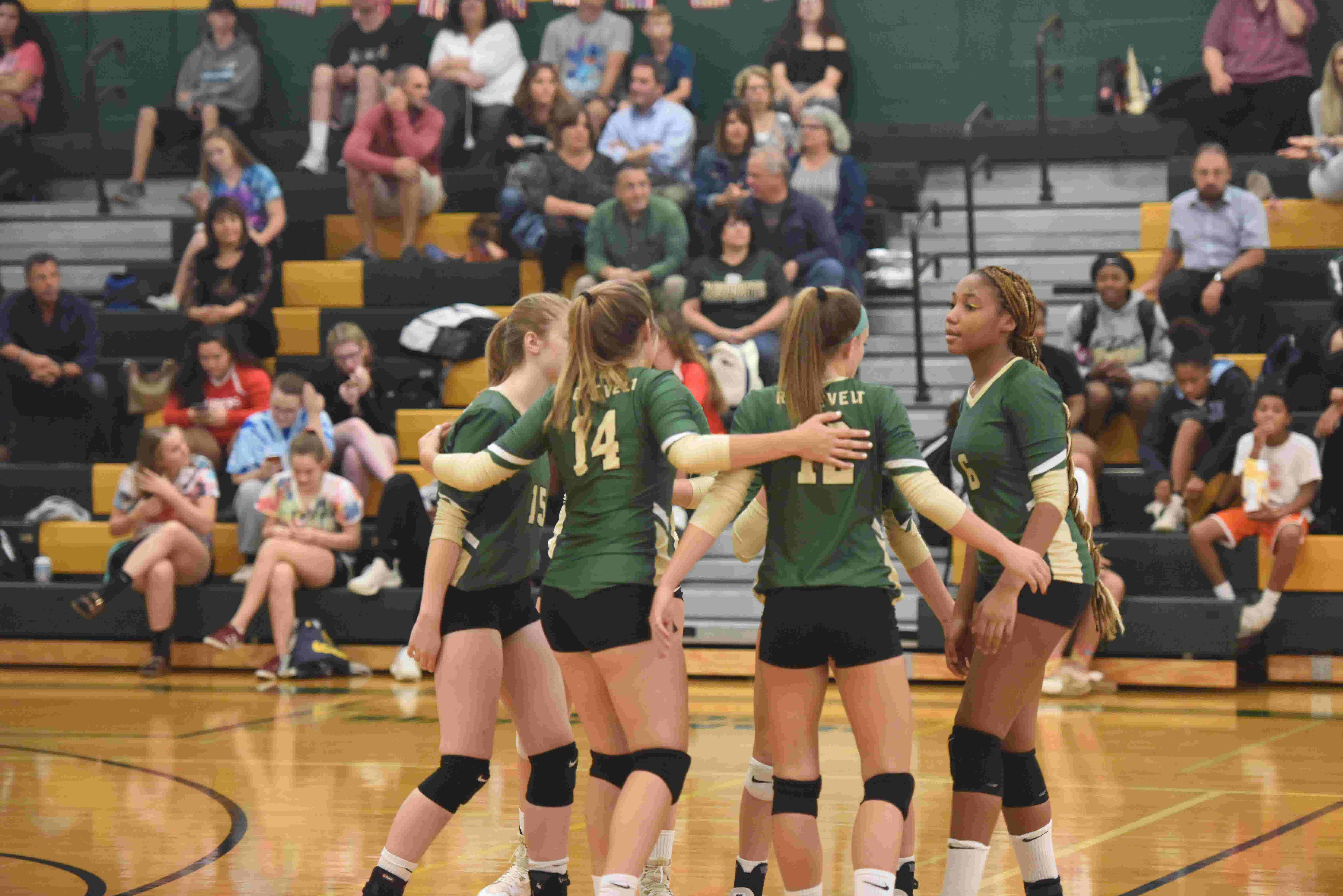 Franklin D  Roosevelt volleyball discusses its rebuild, improvement and  goals