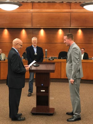 Justin Tomevi Sworn Into Office