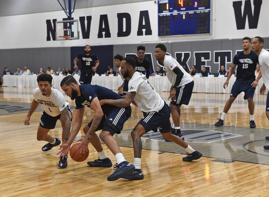 Wolf Pack Basketball Pro Day 8