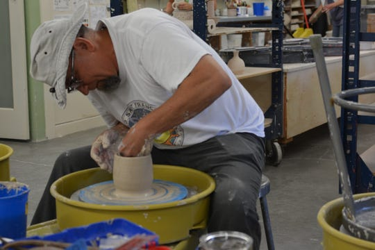 The Friends of the Visual Arts Willamette Art Center are holding a Throw-a-Thon for an upcoming empty bowls fundraiser.