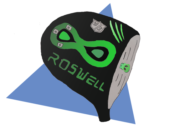 A rendering of Tim Slama's Roswell driver.
