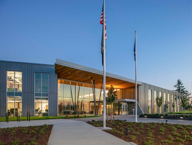 The Oregon Military Department dedicated the Maj. Gen. George A. White Headquarters building on Sept. 26.