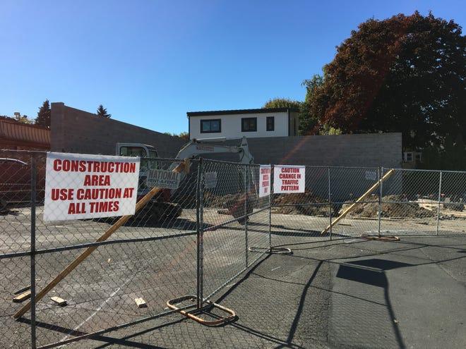 Construction at 2315 Commercial St. SE in Salem, Oregon, on Sept. 28, 2018.