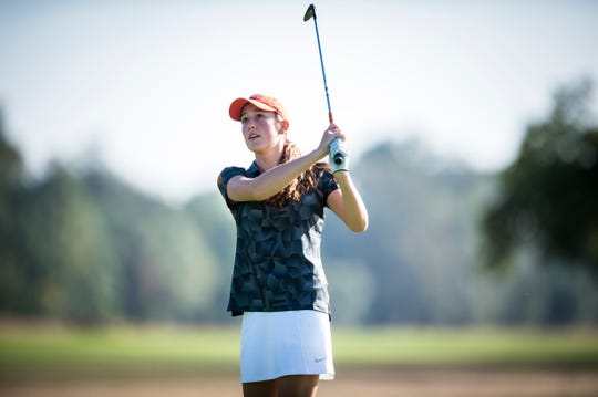 Oregon State sophomore Ellie Slama was medalist in her third collegiate tournament.