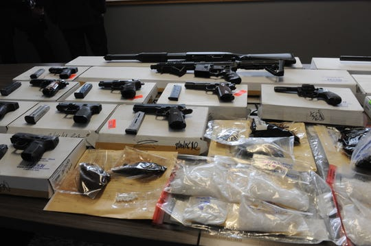 Salinas police showcased the results of their Violence Suppression Unit's summer enforcement.