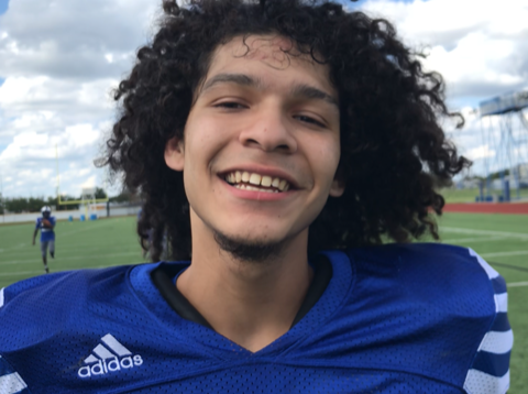 Lake View football player John Paul Rodriguez