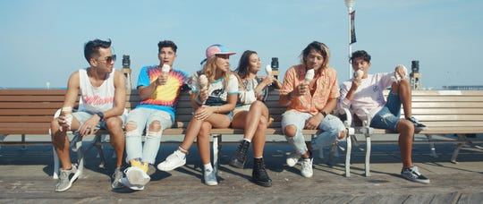 """JAGMAC's new music video """"Not Sure"""" features well-known landmarks in Ocean City. Courtesy of JAGMAC and Chris Daley."""