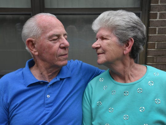 John and Virginia Chelette have been married almost 60 years.