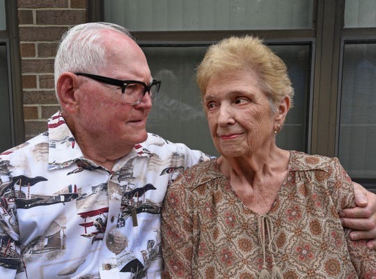 Roy and Barbara Walling have been married 65 years.