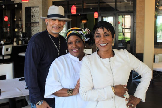"""Christopher B. Pearman, creator, executive producer and director of """"The Panderina Show"""" with Executive Chef Panderina Soumas and restaurateur Michelle White-Lafitte. The reality show will begin filming at Proud Mary 360 Grill in downtown Shreveport."""