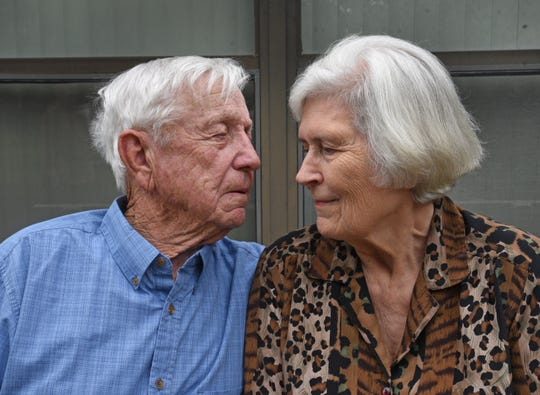 Sonny and Joyce Boyter have been married almost 65 years.
