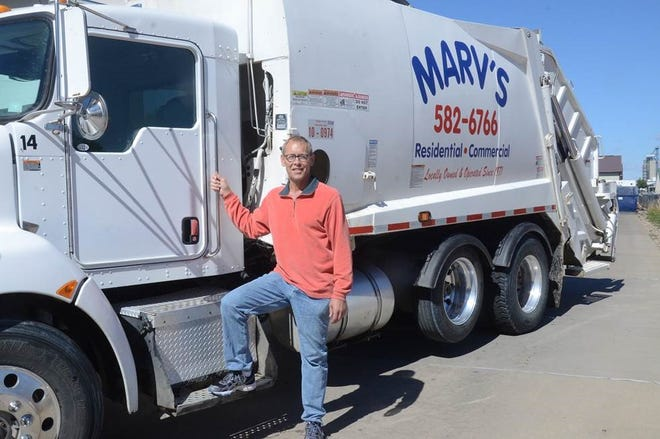Tom Wilford is one of the four owners at Marv's Sanitary Service.