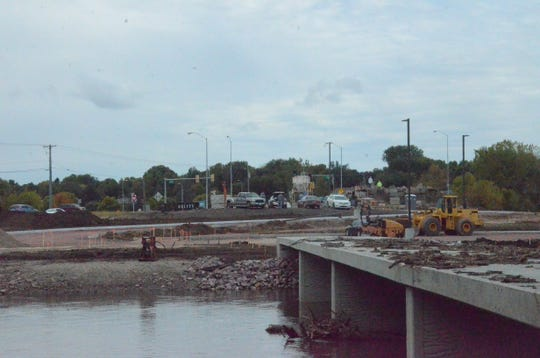 Construction at Rotary Park has been slow to progress this summer and fall due to one of the wettest years on record in Sioux Falls.