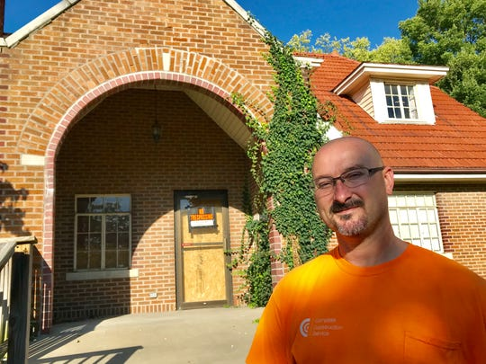 """General contractor J.D. Hay says, """"It is kind of sad. It is a solid little house."""""""