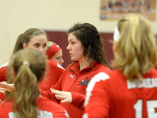 Riverheads' Nyssa Stapleton named All-City/County Coach of the Year.
