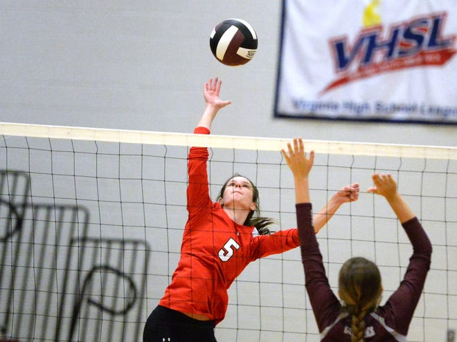 Riverheads' Abbey Eavers earns all-state honors on the Class 1 first team.
