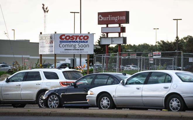 A sign at the corner of Second Street South and 33rd Avenue South in St. Cloud, pictured Monday, Sept. 17, shows Costco Wholesale is expected to open in summer 2019.