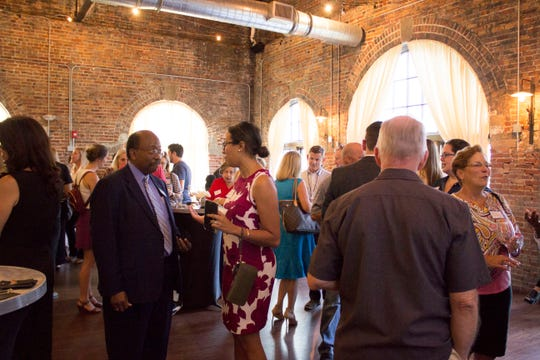 Attendees at KCCI's Showcase & Preview Event learn about the 2019 Red Hills Rhythm placemaking initiative and celebrate the 2018 Experience Tallahassee project. The project will highlight Tallahassee's deep-seated connection to music and bring the community together through the creation of innovative musical element(s) in a public space.