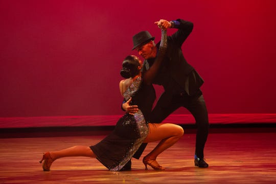 Star dancer George Gozdz and instructor Marianella Tobar were the 2018 Dancing With the Martin Stars Overall Winners, dancing the Argentine Tango.