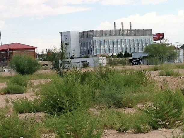 Vacant land is behind the Caldwell Collaborative biomedical technology incubator building on the Medical Center of the Americas campus in Central El Paso.