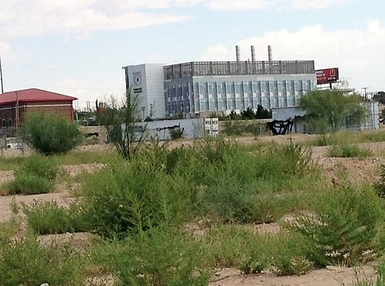 Vacant land is behind the Caldwell Collaborative biomedical technology incubatorbuilding on the Medical Center of the Americas campus in Central El Paso.