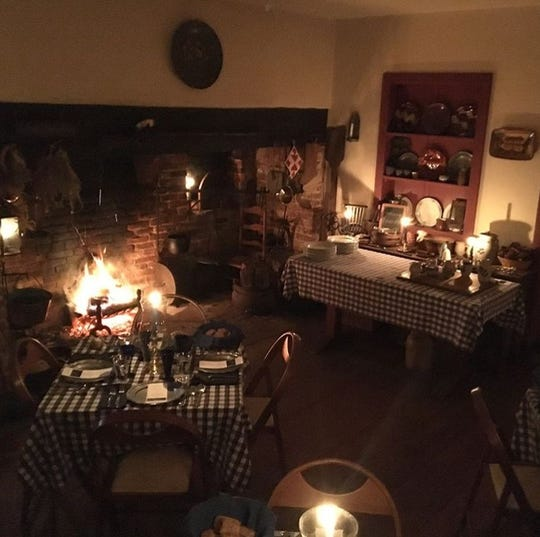 Cumberland County Historical Society will host Hearthside Dinners on Jan. 26, Feb. 23 and March 30 in the colonial 1740 kitchen in the Gibbon House in Greenwich.